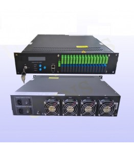 Multiport WDM Erbium Doped Fiber Amplifier (EDFA), изх. опт. ниво. 16 port Х 19dBm