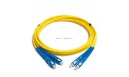 Patch Cord, DUPLEX, SC/PC to SC/PC, SM,  3.00mm, 2 метра