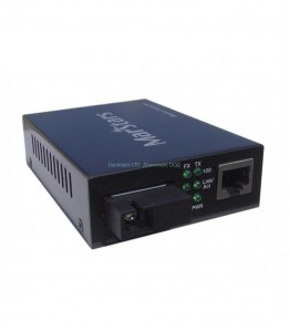WDM 1310 Media Converter Single-Mode 10/100M, Support 25km, едно влакно