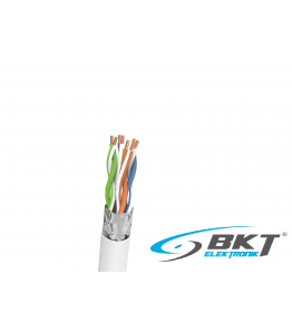 BKT F/UTP PVC cat.5e 285 wire grey 24AWG, 305m
