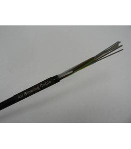 Оптичен кабел 144 влакна, подходящ за издухване: non-metalic, multi tube, 1310/1550, G652D, SM, 12*12, OD: 7.8mm, 1000 N,  59kgs./km., 2km/drum, GCYFY-144