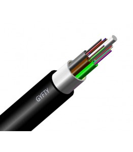 Опичен кабел 288 влакна, неармиран за издухване: G652D, SM, 1310/1550 , 24tubes*12cores