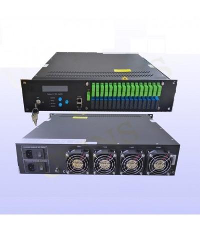 Multiport WDM Erbium Doped Fiber Amplifier (EDFA), изх. опт. ниво. 32 port Х 17dBm