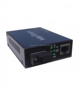 WDM 1310 Media Converter Single-Mode 10/100M, Support 25km, едно влакно