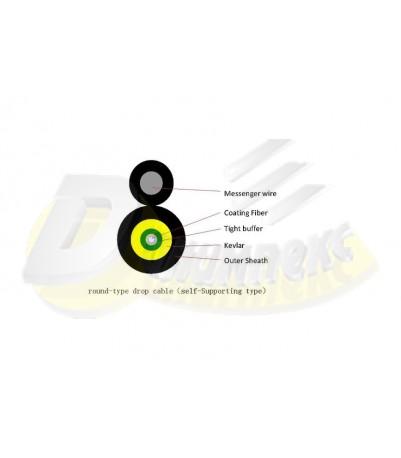 FTTx round Drop Кабел 1 G657A1