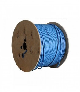 U/FTP LSHF cat.6A BKT 585 wire BLUE 23AWG (500m)