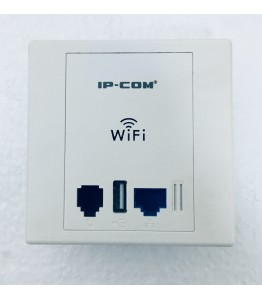 W30AP, Wall Jack AP, 2.4G, 300 Mbps., 1 PoE LAN Port 100 Mbps; 1RJ11 Port; 1 USB 2.0