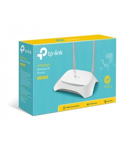 TP-Link Wireless Router, TL-WR840N, 5x10/100Mbps порта