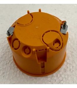 Конзола за контакти за куха стена O68mm, H45mm PP оранжев