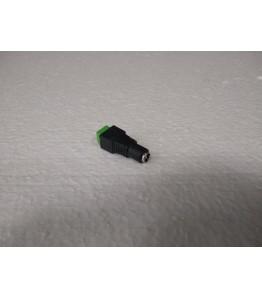 Конектор-букса за захранване на камера, женска, размери 5,50мм Х 2,50мм.