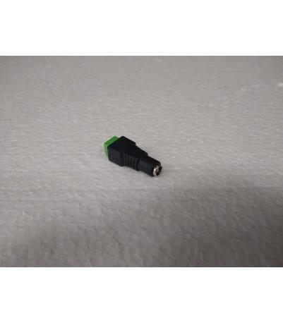 Конектор-букса за захранване на камера, женска, размери: 5,50мм.Х2,00мм.