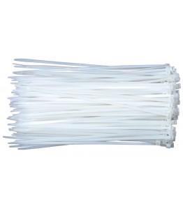 Кабелни връзки, бели, 250x3,50мм СТ11- 100 бр.