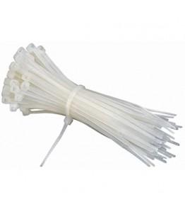 Кабелни връзки, бели, 150x2,5мм СТ4