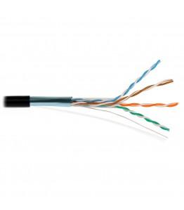 FTP-CAT Cat5E Copper PE 4 pairs 24 AWG Solid COPPER 4Px(0.51mm/1.01mm)+AL+GROUND