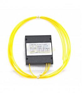PLC Оптичен сплитер 1x3, 40/40/20, 60/20/20, 33/33/33, без конектори