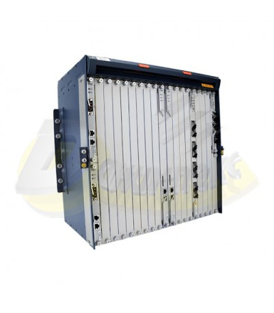 ZTE шаси OLT C300 шаси + 2 * SCXM основна платки за управление + 2 * PRWG, DC захранваща платка + 2 * HUVQ10GE Uplink платка