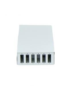 ODF 12 влакна, 6 двойни адаптера - 220мм/110мм/40мм