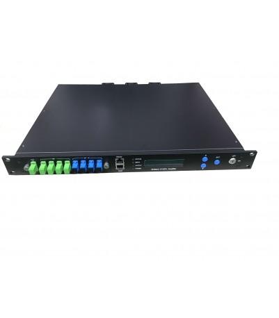 Multiport WDM Erbium Doped Fiber Amplifier (EDFA), изх. опт. ниво. 4 port Х 19dBm