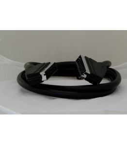 Кабел Скарт/Скарт 1,5 м., стандартен, черен, HE11002DW/P, блистер