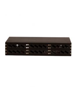 """19"""" ODF 2U Rack style, Включително аксесоари, 48 влакна, 24 двойни адаптери"""