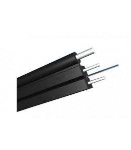 Диелектричен Оптичен кабел FTTH- 1 fiber FRP, messenger 1.00mm FRP
