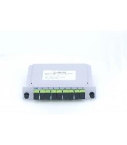 PLC Оптичен Сплитер, 1x8 порта, SC/APC конектори, G657A1