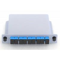 PLC Оптичен Сплитер, 1x8 порта, SC/PC