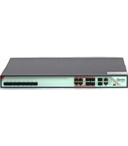 GPON OLT, 8 PON порта , ситема GPON OLT + SFP модули включени , 10G uplink , dual PSU