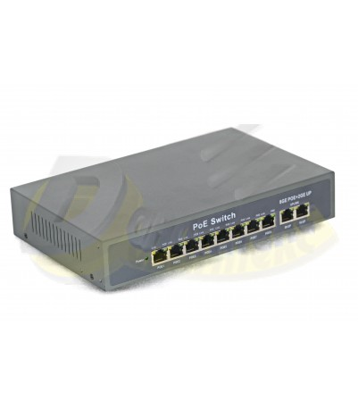 8 GE POE + 2GE Uplink internal power: 120 W