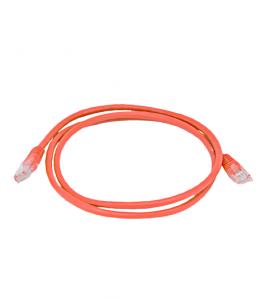 Пач Корд UTP-CAT6, PVC, червен, 1м