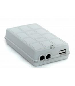FTTH кутия със сплайс касета - 220x15x50мм
