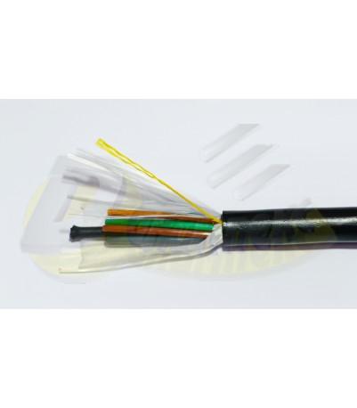 Оптичен кабел 96 влакна, неармиран, неметален изолиран централен елемент, GYGY