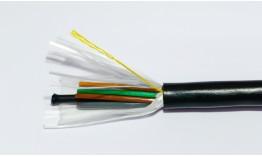 Оптичен кабел 48 влакна, неармиран, неметален изолиран централен елемент, GYGY