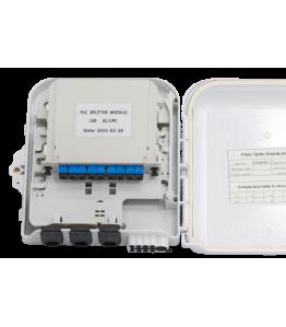 Кутия FOD 8 cores FODB-8A,1-C-3 + PLC splitter 1*8 SC/PC