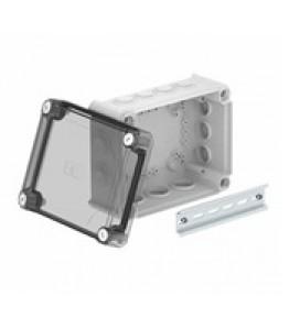 Разклонителна кутия тип T160 прозрачен капак