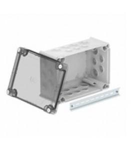Разклонителна кутия тип T250 прозрачен капак