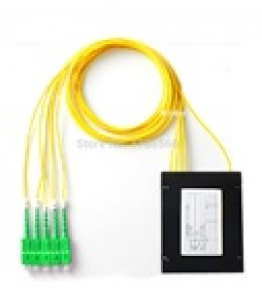 PLC Оптичен сплитер 1*4 LC/APC