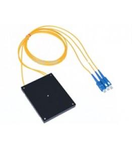 PLC Оптичен сплитер 1*2 SC/PC